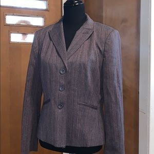 Worthington purple and black blazer!